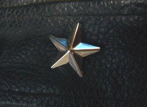 画像3: 星型スタッズ(スター) 15mm 150個